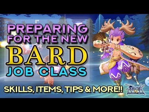 PREPARING FOR THE NEW BARD CLASS!! Skills, Items, Tips & More!!