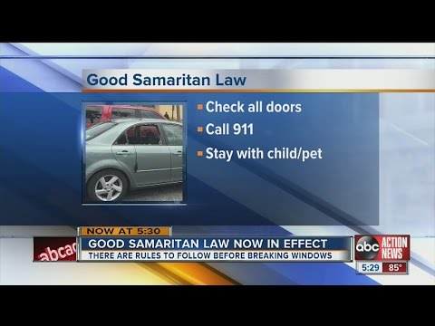 Good Samaritan Law now in effect