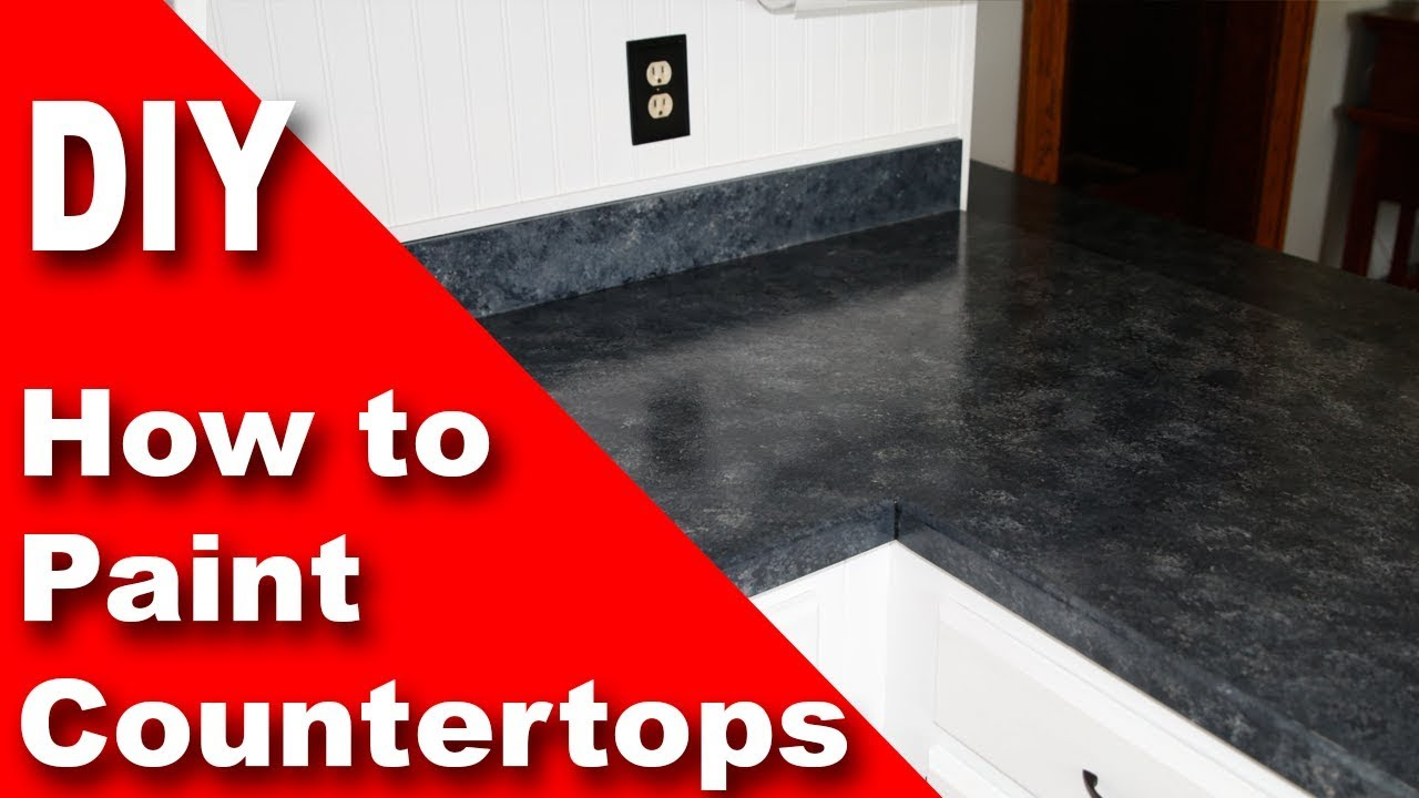 How To Paint A Countertop   With Giani Granite