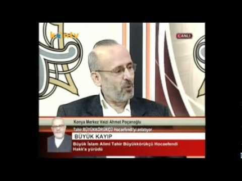 Tahir Hoca Vefat Programı Ahmet Poçanoğlu Part 2
