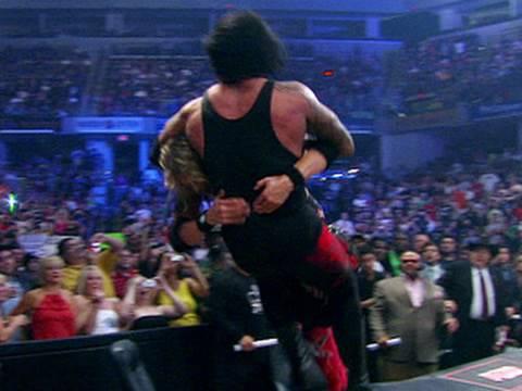 Edge Spears The Undertaker - SummerSlam 2008