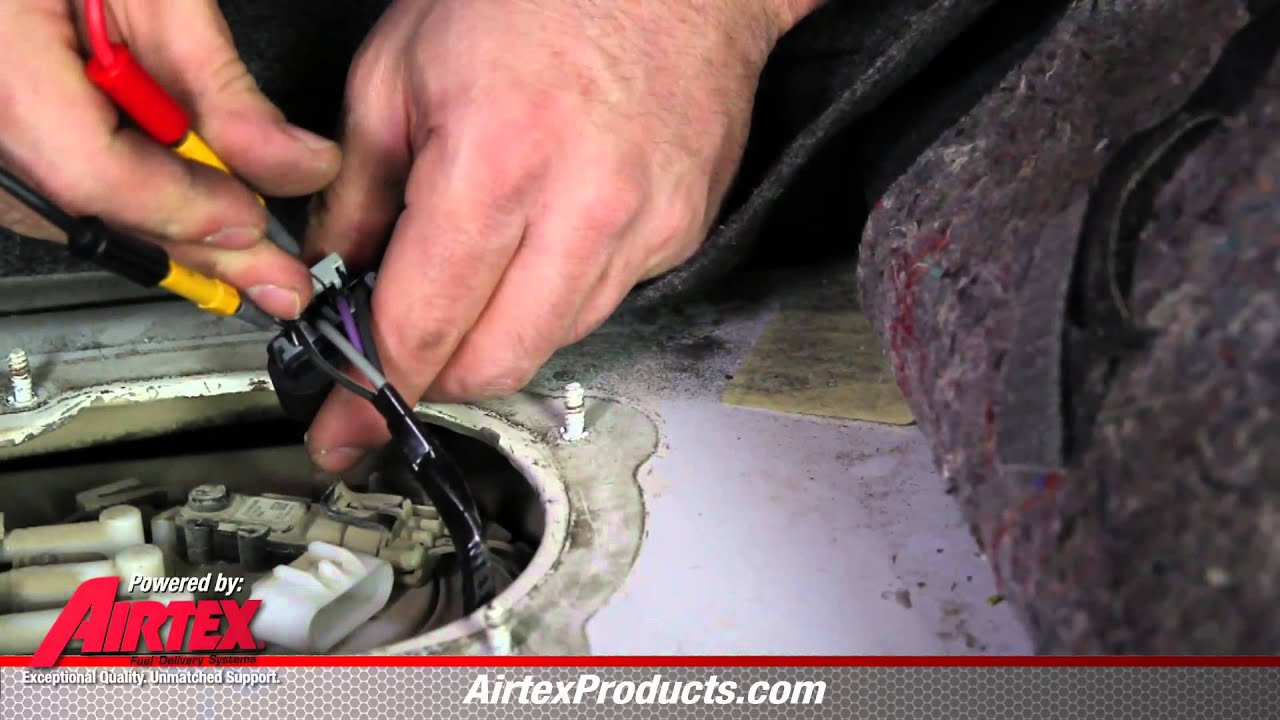 Fuel Gauge Tech  How To Properly Diagnose a Faulty Fuel Pump Sending Unit  YouTube