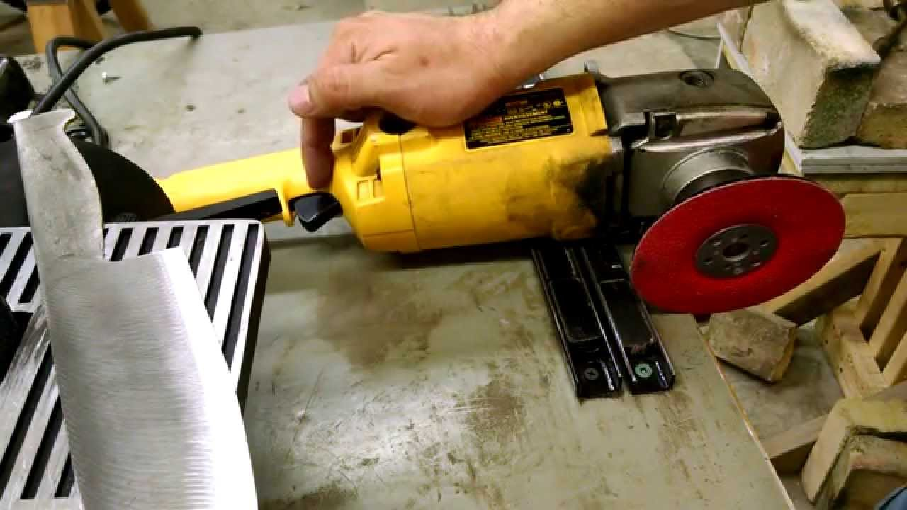 Harbor Freight 1x30 Vs Angle Grinder For Knife Making