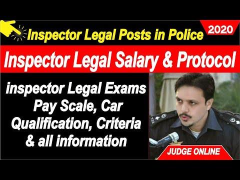 Inspector Legal Police Jobs 2020 .. Inspector Legal Salary , Protocol & Scale, Inspector Legal Jobs