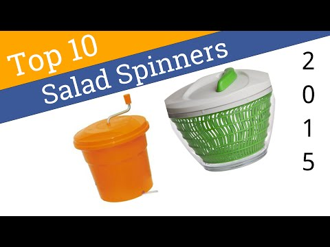 10 Best Salad Spinners 2015