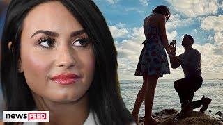 Demi Lovato REACTS To Ex Wilmer Valderrama's Engagement!