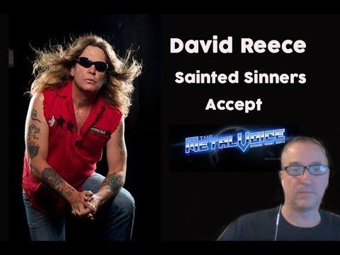 David Reece Ex-Accept Interview- Talks EAT THE HEAT LIVE-The Metal Voice