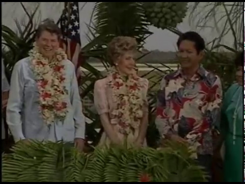 President Reagan's Remarks at his Arrival Ceremony in Guam on April 29, 1986