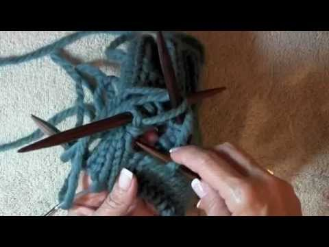 Picking Up Stitches In Knitting Mitten Thumb : Knitting Tutorial: Thumb Gussets Doovi