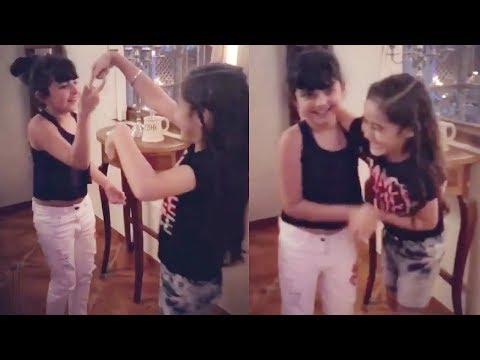 Kulfi And Amyra Cute Dance Video | Kulfi Kumar Bajewala