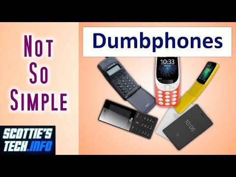Choosing A Dumbphone Ain't Easy!