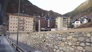 Encamp, Andorra(Encamp, Andorra поездка на бесплатном автопоезде от подъемника Funicamp до отеля., 2010-03-07T10:19:15.000Z)