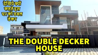 8000 SQ FT Amazing Design 6 BHK THE DOUBLE DECKER HOUSE in Mohali BY Architect Harleen Virk