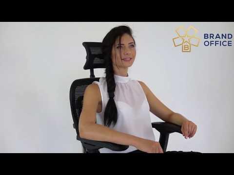 Обзор кресла Ergohuman с подставкой для ног.