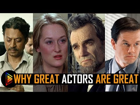 Why great actors are great? Analysis | Good acting techniques | Flashfivelist