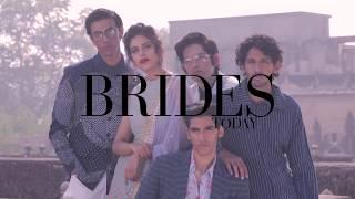Bride and her best men