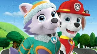 PAW PATROL PUZZLE GAMES FOR KIDS | #MYFUNNYBABYVIDEOS