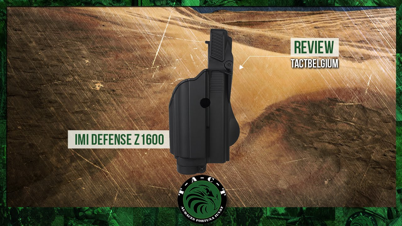 IMI Defense Z1600 Paddle Light Double Magazine Pouch For Glock 17//19//22//23//25//31//32 Gen 4 Compatible Laser Roto Holster