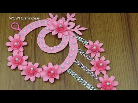 diy-paper-craft-wall-hanging-for-home-decor-easy-wall-decoration-ideas-best-reuse-ideas