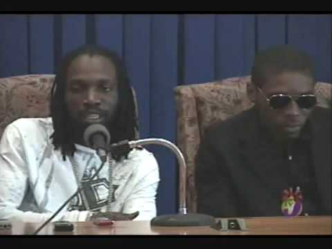 "Jamaica TVJ: Vybz Kartel and Mavado Peace meeting at Jamaica House ""WE ARE NOT ENEMIES!"" DEC 8,2009"