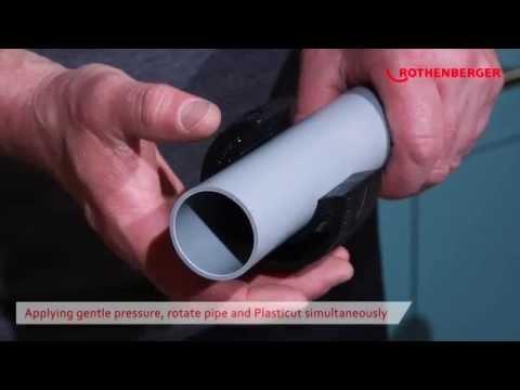 "PLASTICUT Plastic Waste Pipe Cutter 11/4"", 11/2"" and 2"" - 59035/59042/59050"