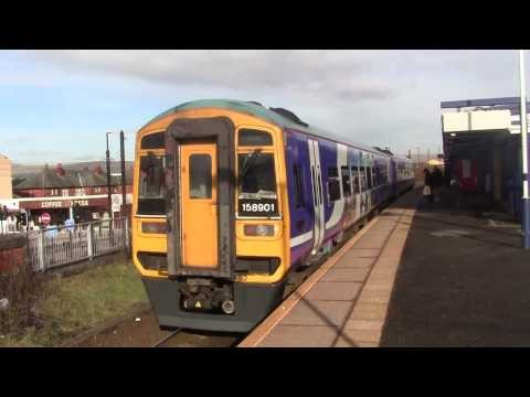 Rochdale Railway Station and Manchester Metrolink - featuring LNER B1 61264