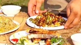 Готовим Курицу по китайски с орешками Видео рецепт