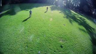 AR Drones in Redwood Park, Arcata, Ca - Slackliners too - Todd & Chad