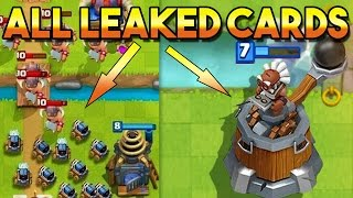 ALL LEAKED CARDS, OPERATOR & CATAPULT, MINI SPARKY SPAWNER, HEROS& CHESTS IDEAS | Clash Royale