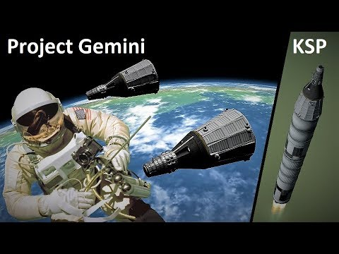 Space Race KSP - Project Gemini - Making History