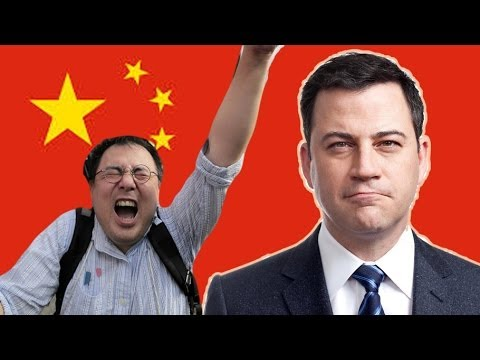 Jimmy Kimmel's Kids Table Leaves China Butthurt - YouTube