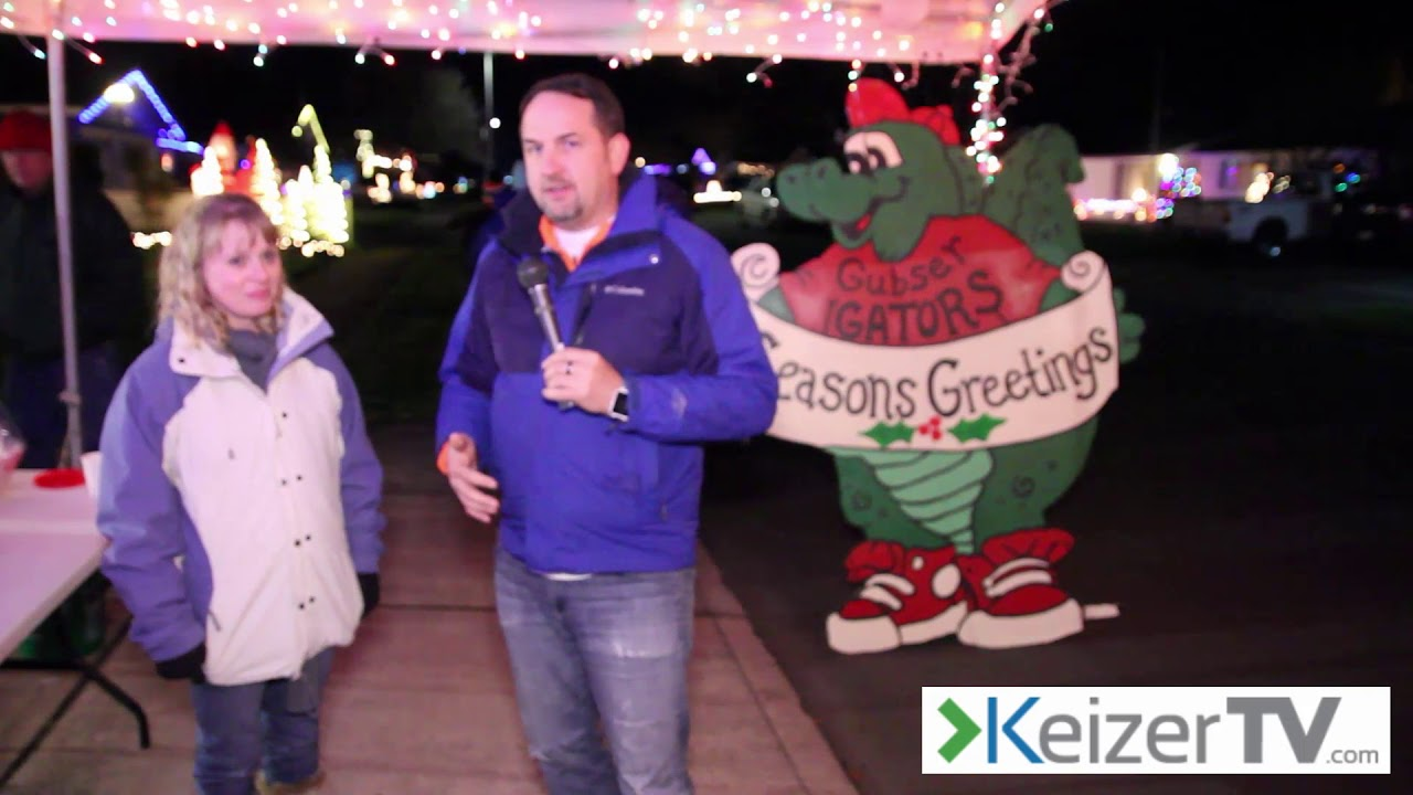 Keizer TV December 2017 Shows Miracle of lights - YouTube