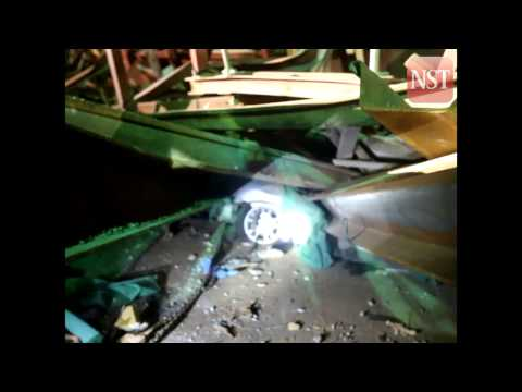 Penang Second Bridge ramp collapse