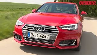 2016 Audi A4 (B9) - First Drive Review (Germany)