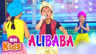 Nhạc Thiếu Nhi  Remix Sôi Động ♫ ALIBABA ♫ Thật Là Hay | Bài Hát Vui Nhộn Cho Bé