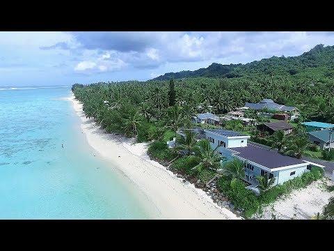 Absolute Beachfront Executive House & Villa FOR SALE - Rarotonga Cook Islands