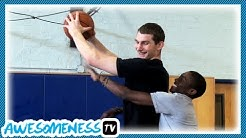 How to Rebound with Basketball Pro Tyler Zeller - How To Be Awesome Ep. 2