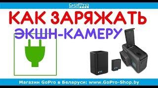 Как заряжать экшн камеру и типы зарядных устройств by gopro-shop.by