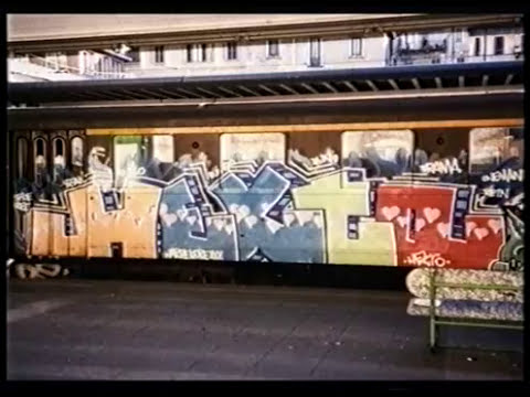 Nero Inferno Documentario - 90s Italian Graffiti Street Art