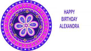 Alexandra   Indian Designs - Happy Birthday