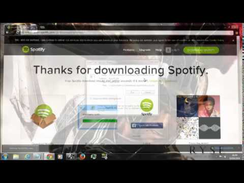 how to download spotify on your PC