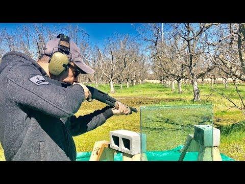 Shotgun vs Bulletproof Glass