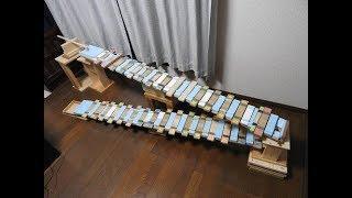 階段木琴できらきら星変奏曲を演奏してみた thumbnail
