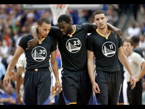 Nba 2k15 stephen curry 45pts 9ast amp klay thompson 36pts 4ast 2015 01