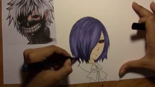 This Video Previously Contained A Copyrighted Audio Track. Due To A Claim By A Copyright Holder, The Audio Track Has Been Muted.     Tokyo Ghoul Collaboration With Melissa Green!
