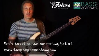 week 7 follow up lesson bass lines you should know