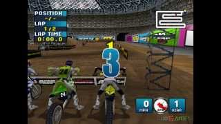 Jeremy McGrath Supercross 2000 - Gameplay PSX / PS1 / PS One / HD 720P (Epsxe)
