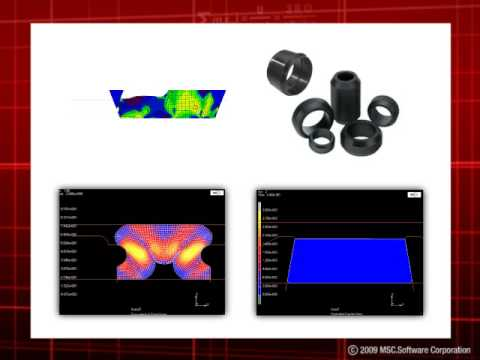 Virtual Prototyping of Packer Seals for the Oil & Gas Industry
