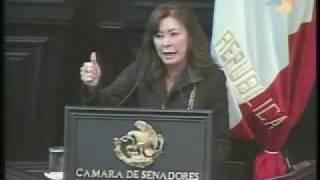 20 octubre 09 Senadora Beatriz Zavala Peniche