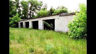 Opuszczone budynki gospodarcze - eksploracja...